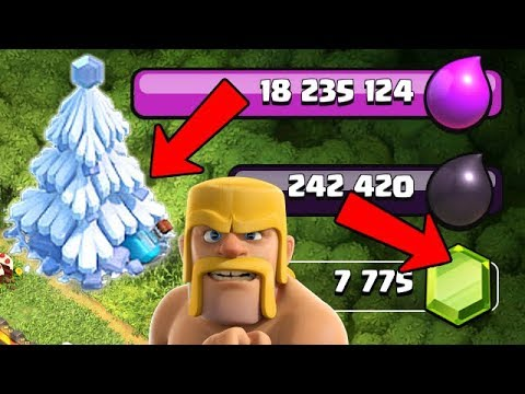 FREE GEMS IN THIS TREE??  How to get Free Gems in Clash of Clans