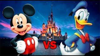 Mickey Mouse vs Donald Duck | SPORE