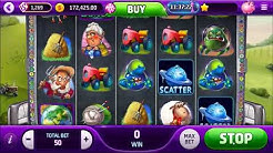 SPACE FORTUNE SLOT - UFO alien abduction themed video slot machine - Slotomania Game