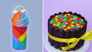 Perfect and Creative Rainbow Cake Recipes For Any Occasion   Top Yummy Chocolate Cake Ideas