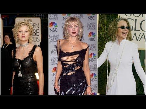 Las peor vestidas en los últimos 20 años de los Globos de Oro