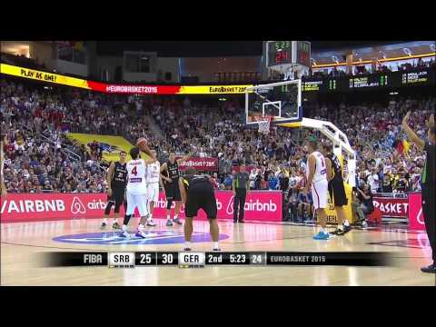 FIBA EuroBasket 2015 Serbia vs Germany HD