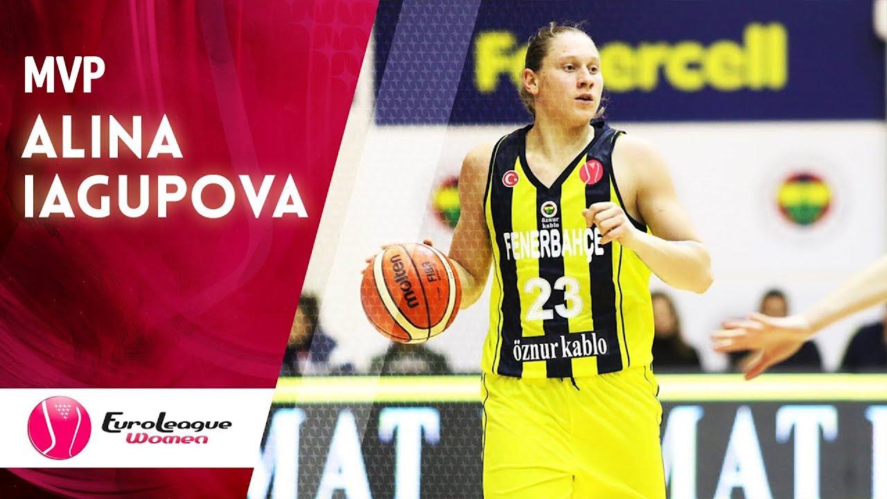 Alina Iagupova - EuroLeague Women 2019