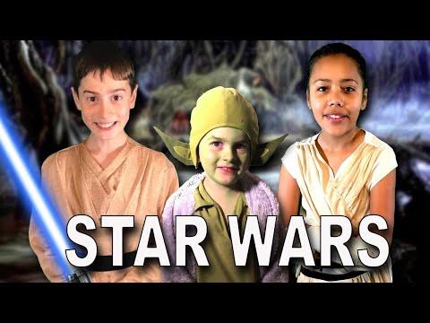 STAR WARS Santander Contest! - The Force Is Good - Win Star Wars goodies!! (Kids Fun Parody)