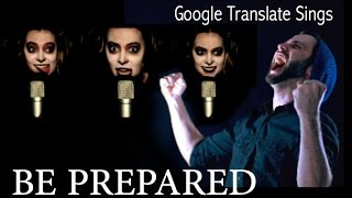 Google Translate Sings:
