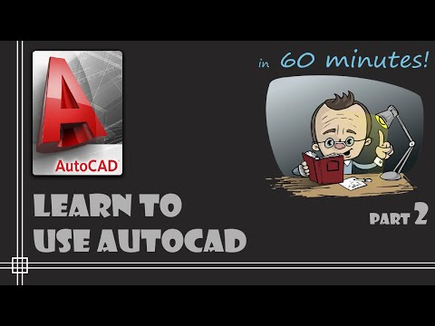 autocad---complete-tutorial-for-beginners---learn-to-use-autocad-in-60-minutes---part-2