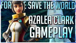 FORTNITE STW: AZALEA CLARK MYTHIC OUTLANDER GAMEPLAY OVERVIEW!