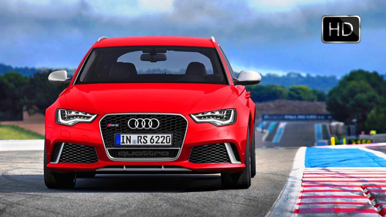 Video 2015 audi rs6 sport facelift road track hd