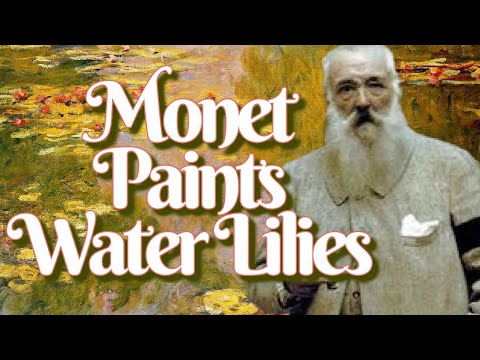 Secrets of Colorful Water Lilies by Monet a French Impressionism Painting (Documentary Art History)