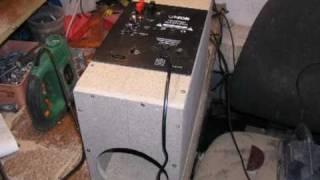Bass I love you. Subwoofer DIY Unitra Tonsil + Canton czytaj opis...