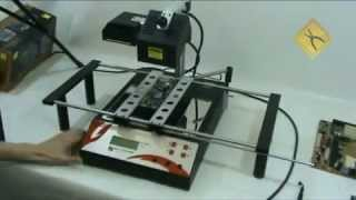 Gambar cover Jovy Systems RE-7500 Infrared BGA Rework Station Video Review