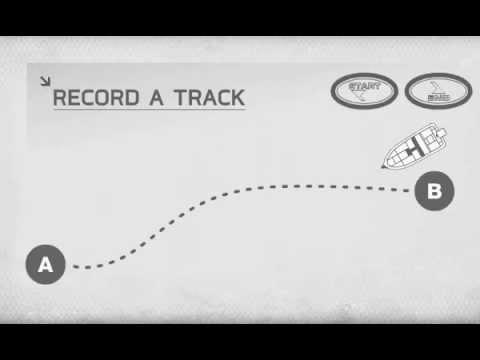 Minn Kota i-Pilot: Record A Track Feature