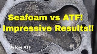 Seafoam--can't believe what it did to my engine episode 6--Seafoam vs ATF!!