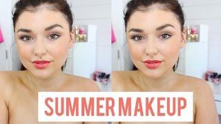 Makeup Tutorial for Hot Summer Days | Chloé Zadori