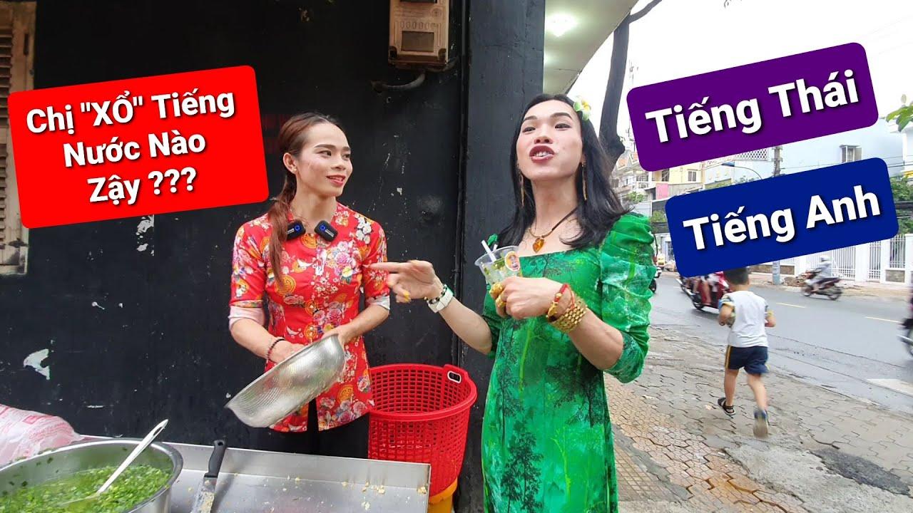 """Cười xỉu với TY THY trổ tài hát tiếng Thái và """"xổ"""" tiếng Anh như GIÓ tại Bắp Nướng Tây Thy"""