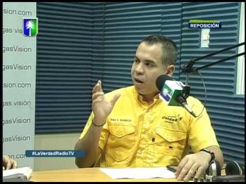 Entrevista a Jose Antonio Mendoza en La Verdad en Radio TV