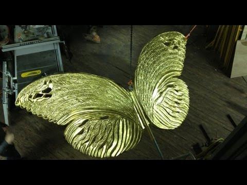 "Making ""Butterflies of Memory"" Artist Kathleen Griffin"