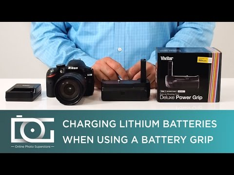 TUTORIAL | Charging Lithium Batteries Inside a Battery Grip for NIKON, CANON & Other DSLR Cameras