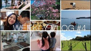 Weekly Vlog#4 | 跟我一起去度假 | 逛酒莊/小鎮集市/巧克力工廠/划Kayak | HiBarbie