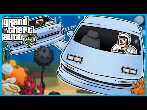 GTA 5 Online The Doomsday Heist! - Stomberg Submarine Car, Agent ULP, and Getting Men Wet! (Part 3)