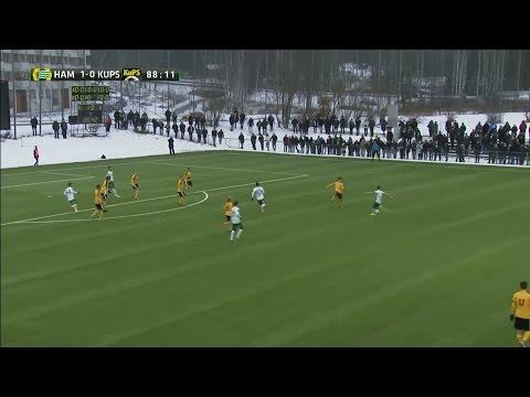 Saevarsson bombar in 2-0 för Hammarby - TV4 Sport