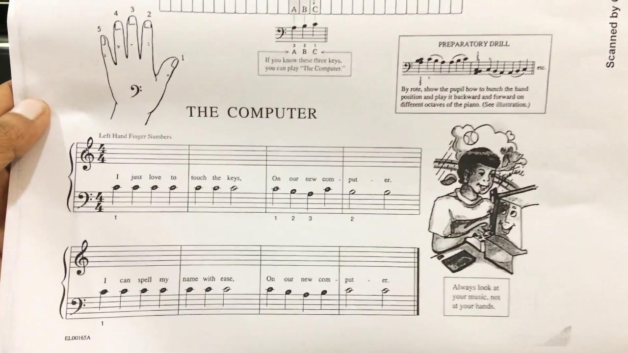 Learn piano notation hindi piano lesson#3 with jatin ...