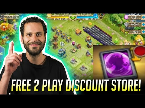 Free 2 Plays Discount Store Also Thunder Gods Gift Castle Clash