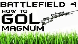 How to Unlock the GOL Magnum *EASY* | Second Assault | Battlefield 4 |