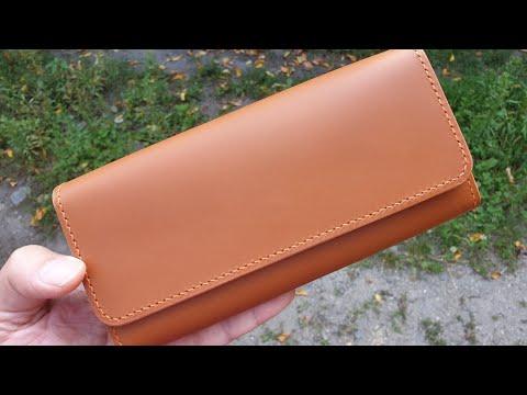 Женский кошелёк ручной работы. Handmade Women's Wallet.