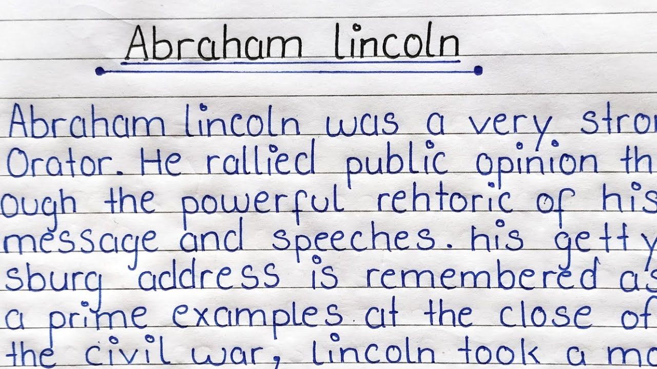 Type my esl admission essay on lincoln how to begin an introduction on essay