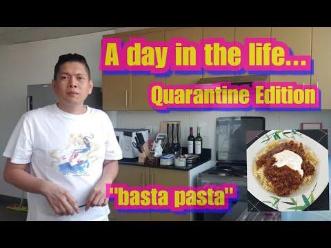 FILIPINO TEACHER IN DUBAI - A Day in the Life - Quarantine Edition BASTA PASTA