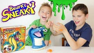 JEU - BEURKY SNEAKY : Le serpent gluant qui te croque la main ! - Jeu de société