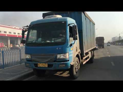 China FAW Diesel truck Cold start