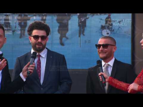 Top Music Awards 2016 Red Carpet, Mc Kresha, Lyrical Son - Top Channel Albania - Entertainment Show