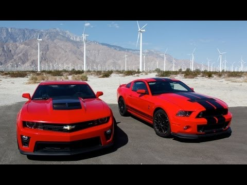 Burnout Fest! 2013 Shelby GT500 and 2012 Camaro ZL1 Road Trip - HOT ROD Unlimited Episode 15