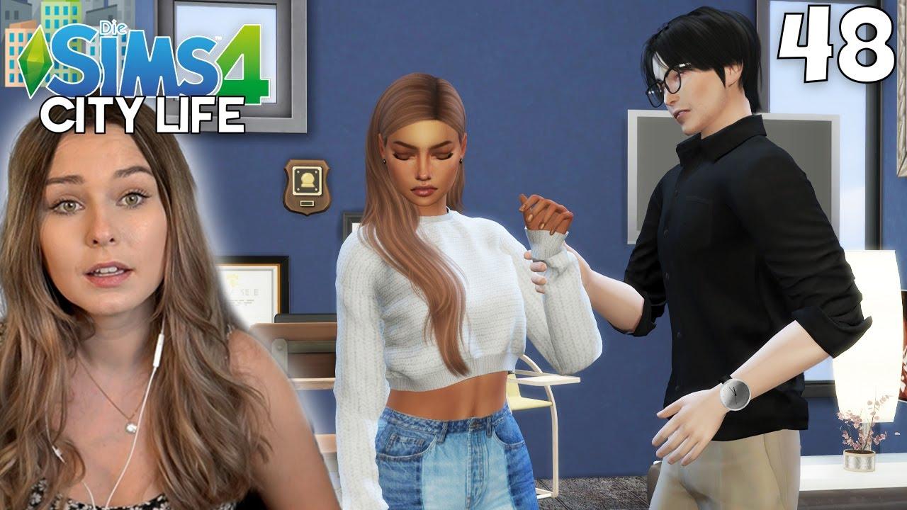 Werden sie die Krise überwinden? - Die Sims 4 City Life Part 48   simfinity