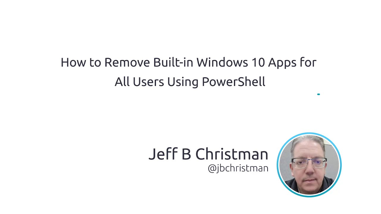 How To Remove Built-in Windows 10 Apps For All Users Using PowerShell