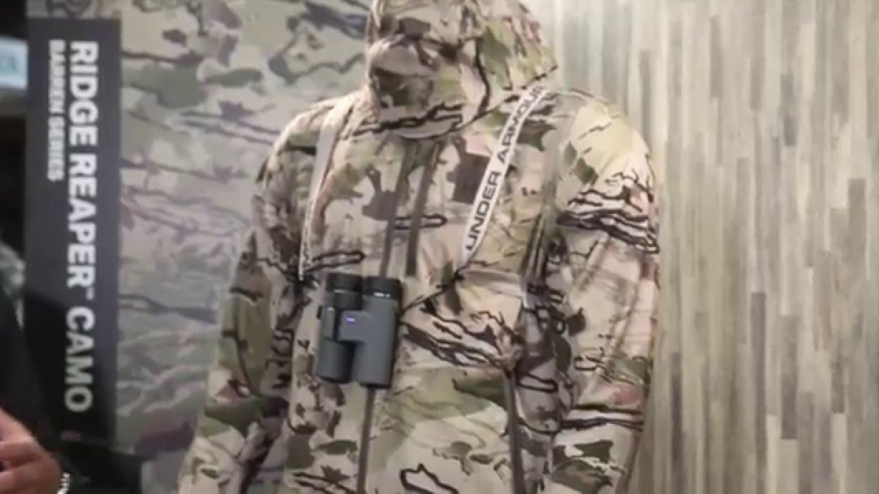 80b36cbafc6d8 Under Armour Ridge Reaper Hunting Jacket & Pants - 2016 SHOT Show - YouTube