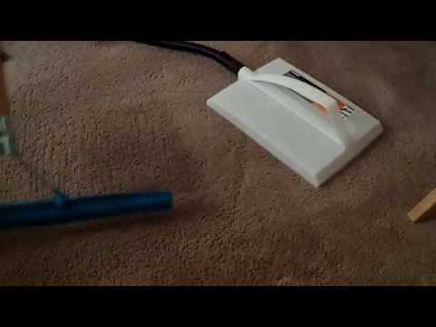 Remove Furniture Dents From Carpet With Wagner Steamer
