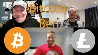 Special Guest Bitcoin Ben! How He Is Helping Shape The Cryptocurrency Industry!