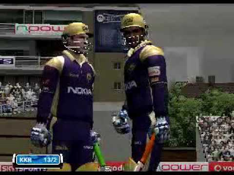 Ea cricket 2011 ipl youtube.