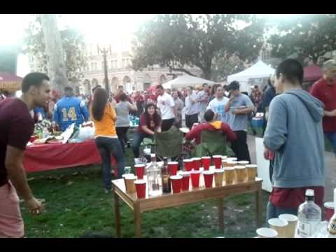 Usc Vs Ucla Football Tailgate Party 3 Mp4 Youtube