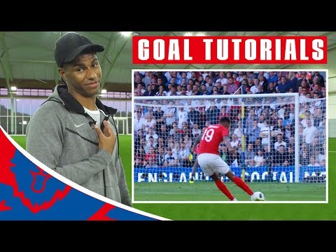 How to Shoot Like Marcus Rashford!   Goal Tutorials   Rashford vs Costa Rica