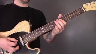 Michael Kiwanuka - Falling Guitar Lesson