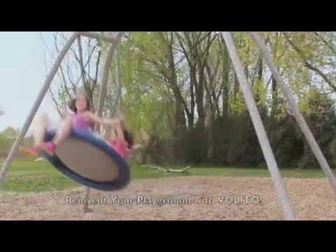 Volito New Age Mulit-User Minnesota Playground Swing