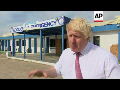 UK foreign secretary visits hospital in Irma-hit Anguilla