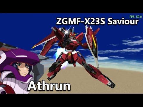 Gundam Seed: Rengou vs ZAFT - ZGMF-X23S Saviour - Arcade Mode