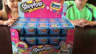 Shopkins After Target Buying 30 Mini Baskets-