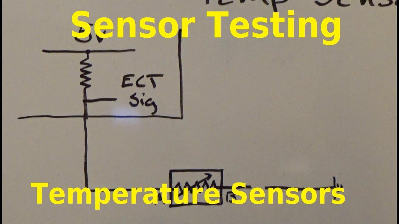 Testing Thermistors Temp Sensors Youtube