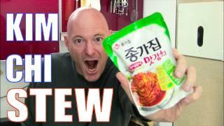 Korean Cookin': Kimchi Jjigae (stew)